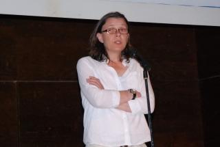 La vicerectora Crisina Velazquez clausuró la gala