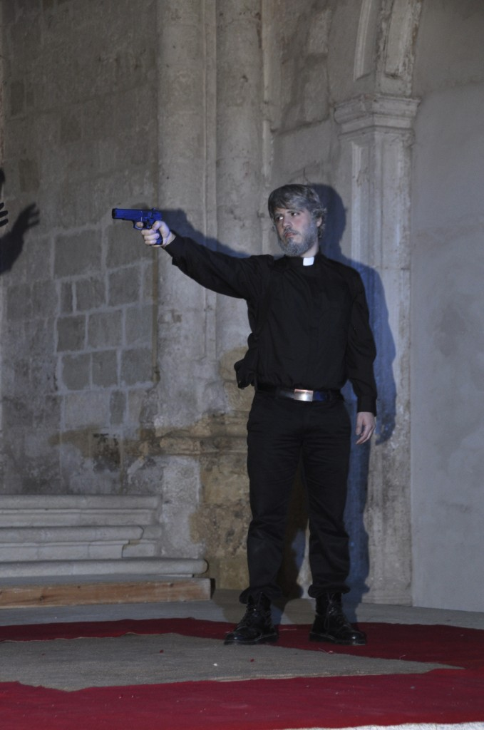 Clotaldo descubre a Segismundo