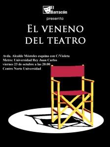 el veneno del teatro mostoles