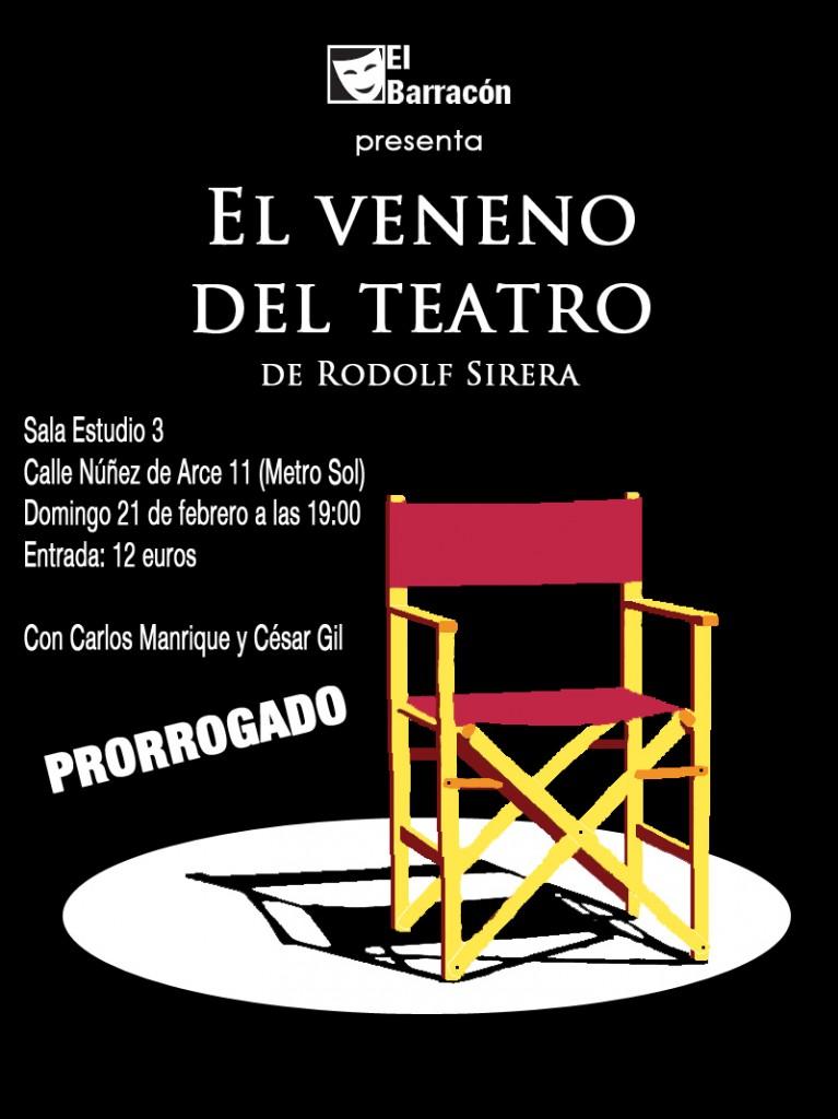el veneno del teatro - estudio 3 PRORROGADO con info 01